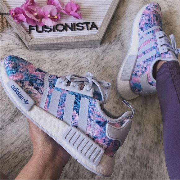 Adidas Shoes Nwt Rare Nmd R1 Tiedye 65y8w Poshmark